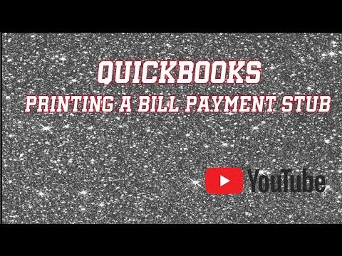quickbooks pay stub
