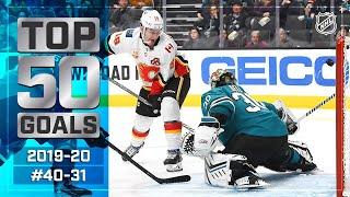 Top 50 Gorgeous Goals ... So Far: #40-31 | 2019-20 NHL Season