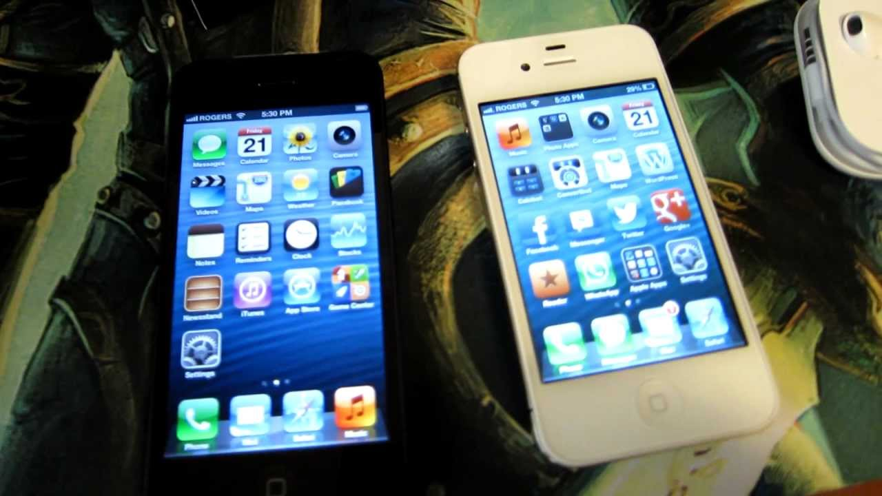 iphone 4s screen size iphone 5 unboxing hd 1080p iphone 5 vs iphone 4s 14452