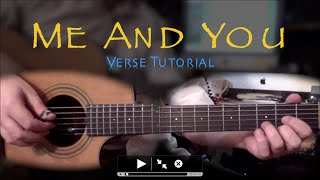Me And You Verse Tutorial - Bryan Rason - FingerStyle Guitar
