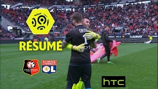 Stade Rennais FC - Olympique Lyonnais (1-1)  - Résumé - (SRFC - OL) / 2016-17
