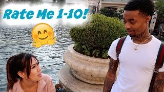 ASKING PRETTY GIRLS TO RATE ME 1-10 PUBLIC INTERVIEW!