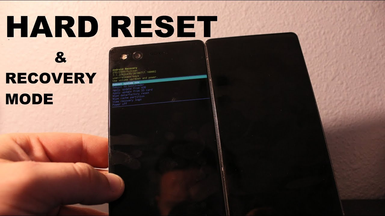 Zte Axon M Recovery MODE AND HARD RESET!