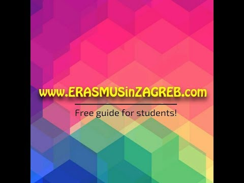 www.erasmusinzagreb.com - free guide for students
