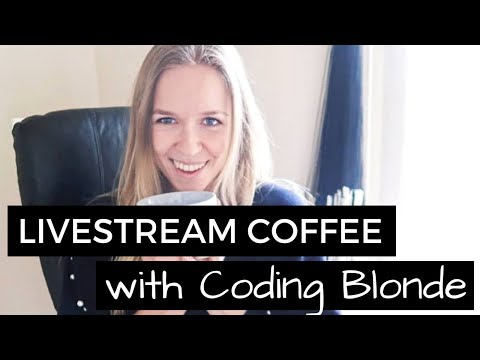 Coffee with Coding Blonde