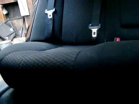Снятие заднего сиденья(Тойота Авенсис АТ250)