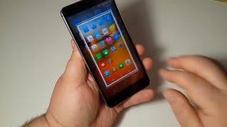Как сделать скриншот экрана Leagoo M8 Fingerprint ID Smartphone 5.7