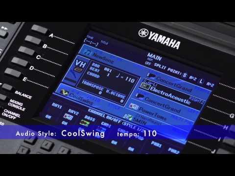 PSR-S950 Audio Style