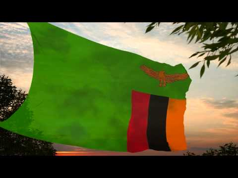 National Anthem of Zambia ✪ Lhymne national de la Zambie Nationalhymne Sambia