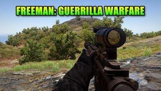 Freeman: Guerrilla Warfare - FPS Meets RTS