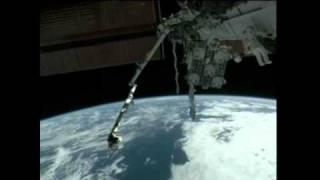 Bowen and Drew Perform First Spacewalk