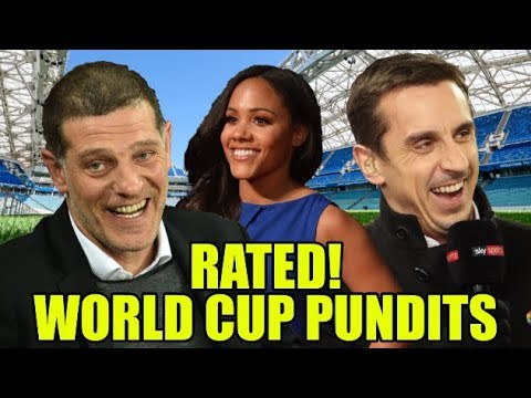 RATED! 2018 World Cup Pundits