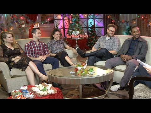 Seth Rogen and The Night Before Cast Play Holiday Mad Libs