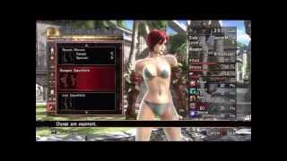 Soul Calibur IV - All Female CaS Parts Showcase (Part 1/2)