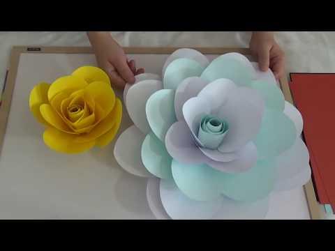 Camillia Flower Template Making Tutorial