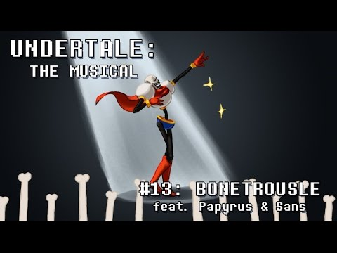 Undertale the Musical - Bonetrousle (Old Version)