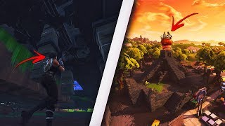 How to get UNDER the TOMATO TEMPLE in Fortnite! Get under map in Tomato! (Fortnite Glitches)