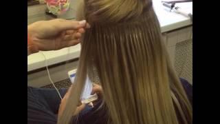 Портятся ли свои волосы после Наращивания ? Ответ прост в руках наших профессионалов, нет ☺️