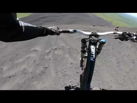 Riding Cerro Negro In Nicaragua