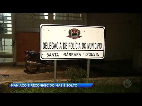 Maníaco é solto após ser reconhecido por vítimas no interior de SP