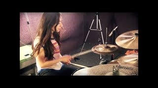 NIRVANA - SMELLS LIKE TEEN SPIRIT - DRUM COVER BY MEYTAL COHEN