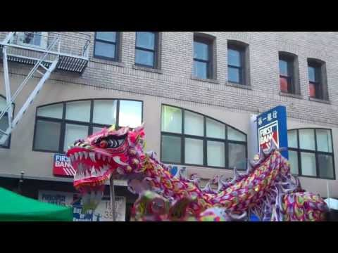 2013 Autumn Moon Festival Chinatown San Francisco The Dragon Parade 2