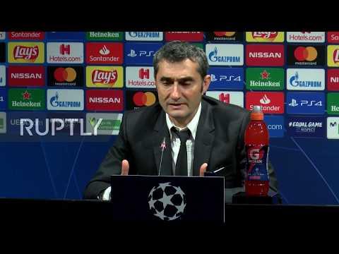 Spain: Barca coach Valverde praises 'amazing' Messi after win over Dortmund