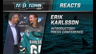 Teal Town Reacts: Erik Karlsson Introductory Press Conference