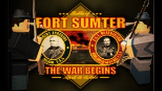 What in the world happend. - CSA [Roblox] TFA is raiding fort Sumter!