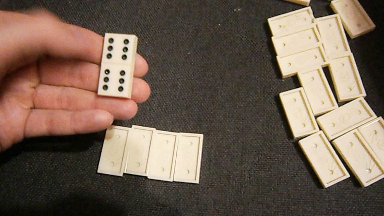 Карточная игра домино