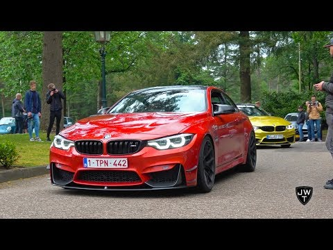 LOUD (Modified) BMW M4 F82 Coupes W/ Custom Exhausts! REVS & More SOUNDS!