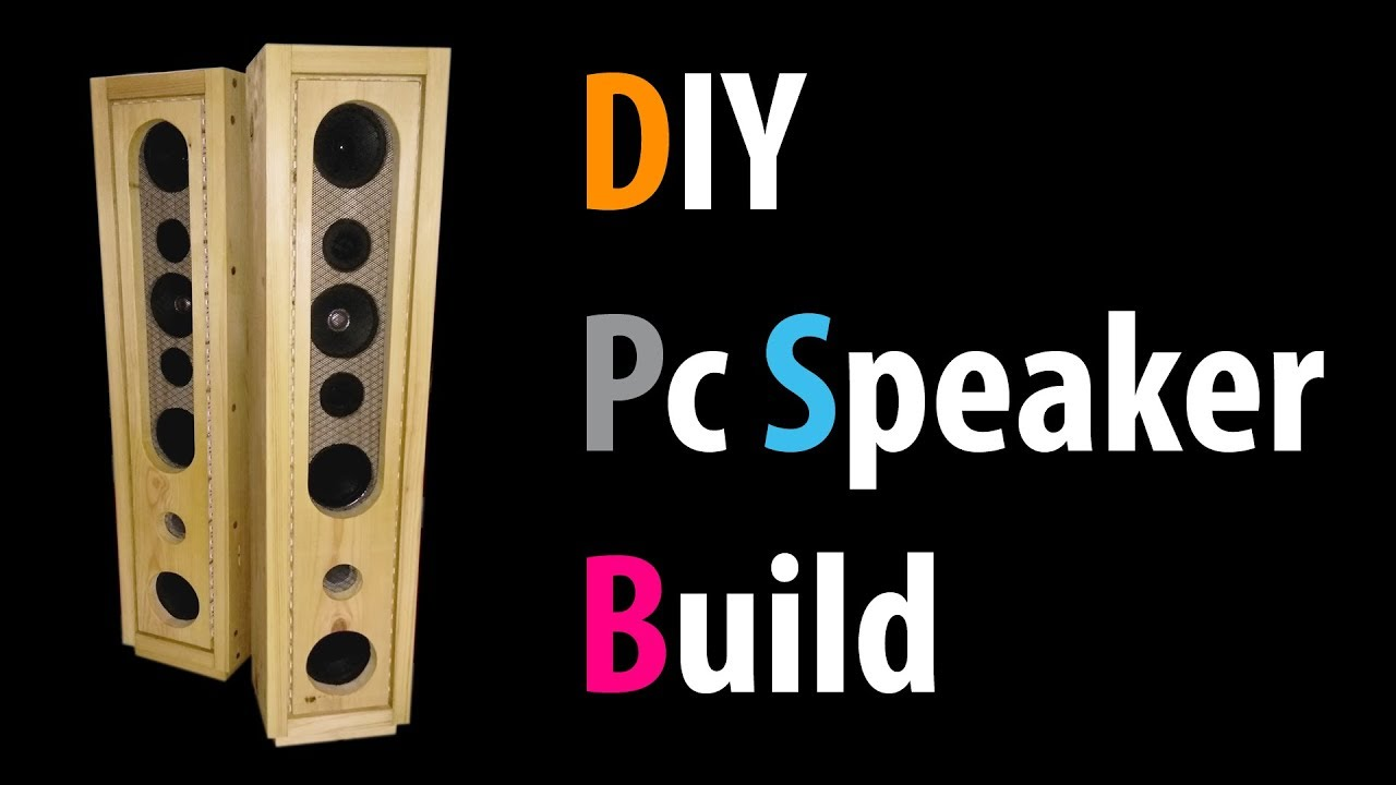 DIY Pc Speaker Build - YouTube