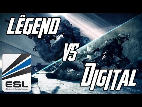[Battlefield 3] Match Lëgend vs. Digital Gaming | Ladder 5v5 FR (Partie 1)
