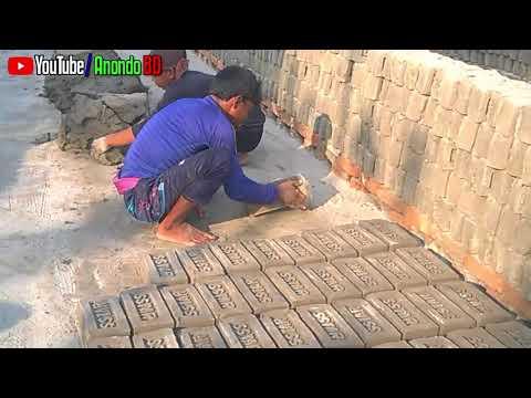ইট যেভাবে প্রস্তুত হয় | How to make bricks in Bangla | Building Construction