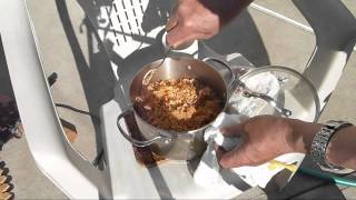 Trying Out The Sun Oven With A Zatarain's Jambalaya Rice Mix