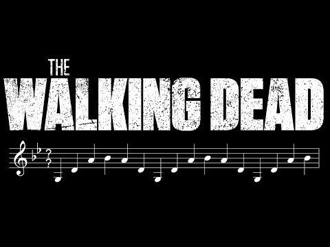 What TIME SIGNATURE is The Walking Dead theme?