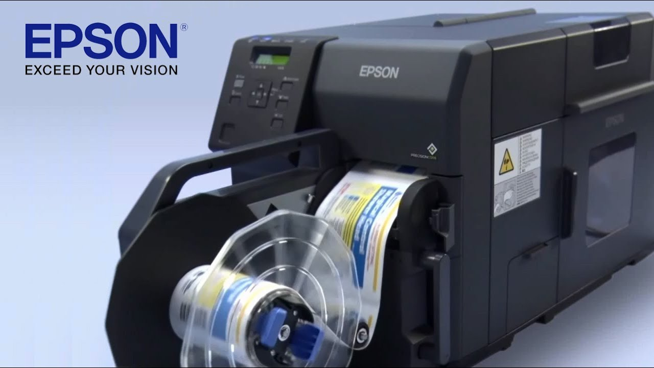 Color printer label - Epson Colorworks C7500 Industrial Colour Label Printer Coming Soon Youtube