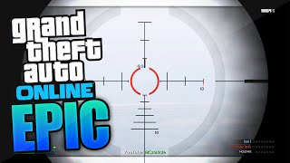 LONGEST SNIPER SHOT EVER!? (GTA 5 Epic Clips / GTA 5 Funny Moments)