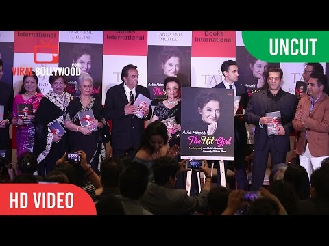 UNCUT - Asha Parekh's The Hit Girl Book Launch By Salman Khan, Dharmendra And Jeetendra