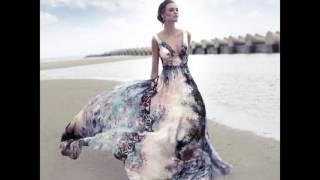 Шелковые вечерние платья – 2017