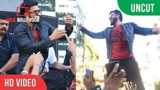 UNCUT - Don't Hold Back | Jack & Jones's | Ranveer Singh | Live Rap | Dance