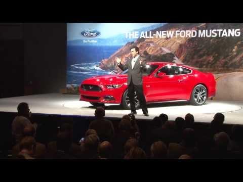 2015 Mustang Unveiling Presentation in Dearborn, MI