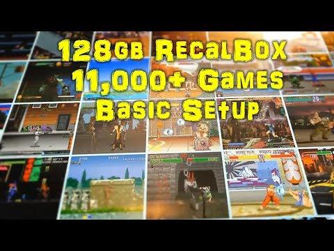 How To 128gb RecalBox Pi 3 Image Setup