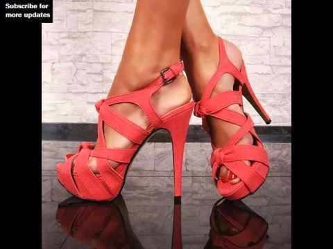 Pink Heels | Coral Heels & Shoes Picture Collection - YouTube