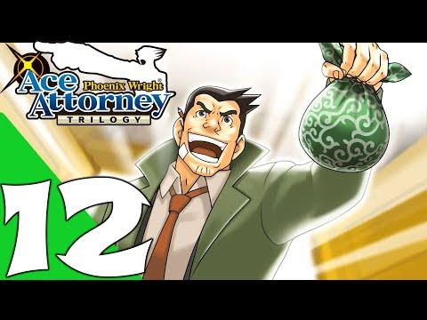Phoenix Wright: Ace Attorney Trilogy Walkthrough Gameplay Part 12 - Case 12 (PC Remastered)