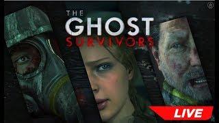 THE GHOST SURVIVORS | FUGITIVA - RESIDENT EVIL 2 REMAKE DLC # 1 | Ao Vivo