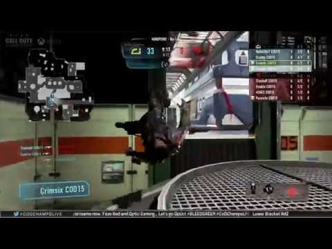 OpTic Gaming Vs Faze Red - Game 1 -  Lower R3 - Call Of Duty Championship 2015