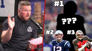 Pat McAfee Reacts To ESPN's Top Free Agent QB List