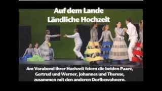 Jour de Gloire, Auszug aus dem 1. Akt, auf dem Lande  (mit deutschen Untertiteln)