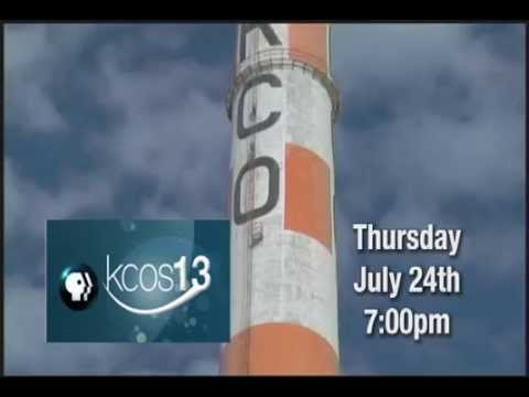 KCOS 30 sec promo 7-24-14 broadcast PREMIERE of Last Tour of the El Paso Smelter Vol1 The Stacks